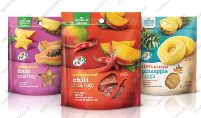 صادرات میوه خشک بسته بندی شده