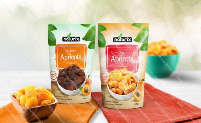 شیک ترین بسته بندی های میوه خشک
