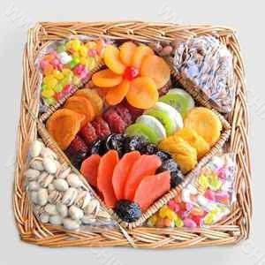 تخفیف ویژه میوه خشک