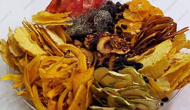 بسته بندی مخلوط میوه خشک در ایران