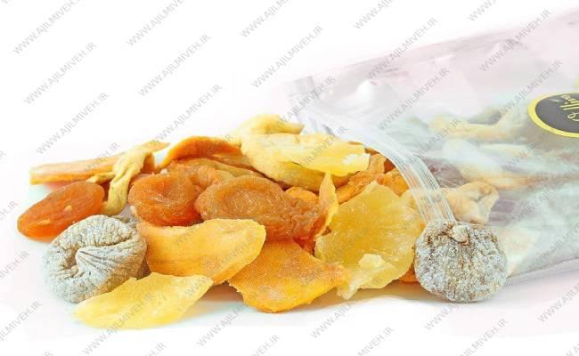 قیمت تجاری میوه خشک بسته بندی شده