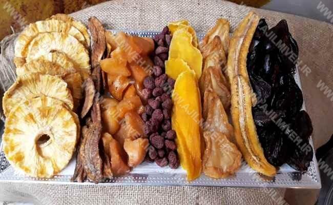 فروش فوق العاده میوه خشک ارزان در کشور