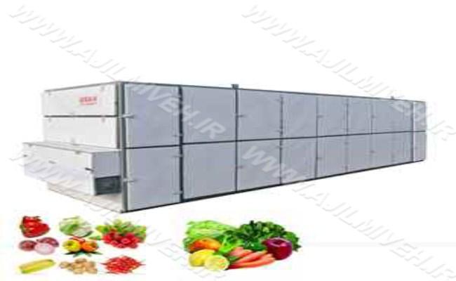 دستگاه تولید میوه خشک صادراتی